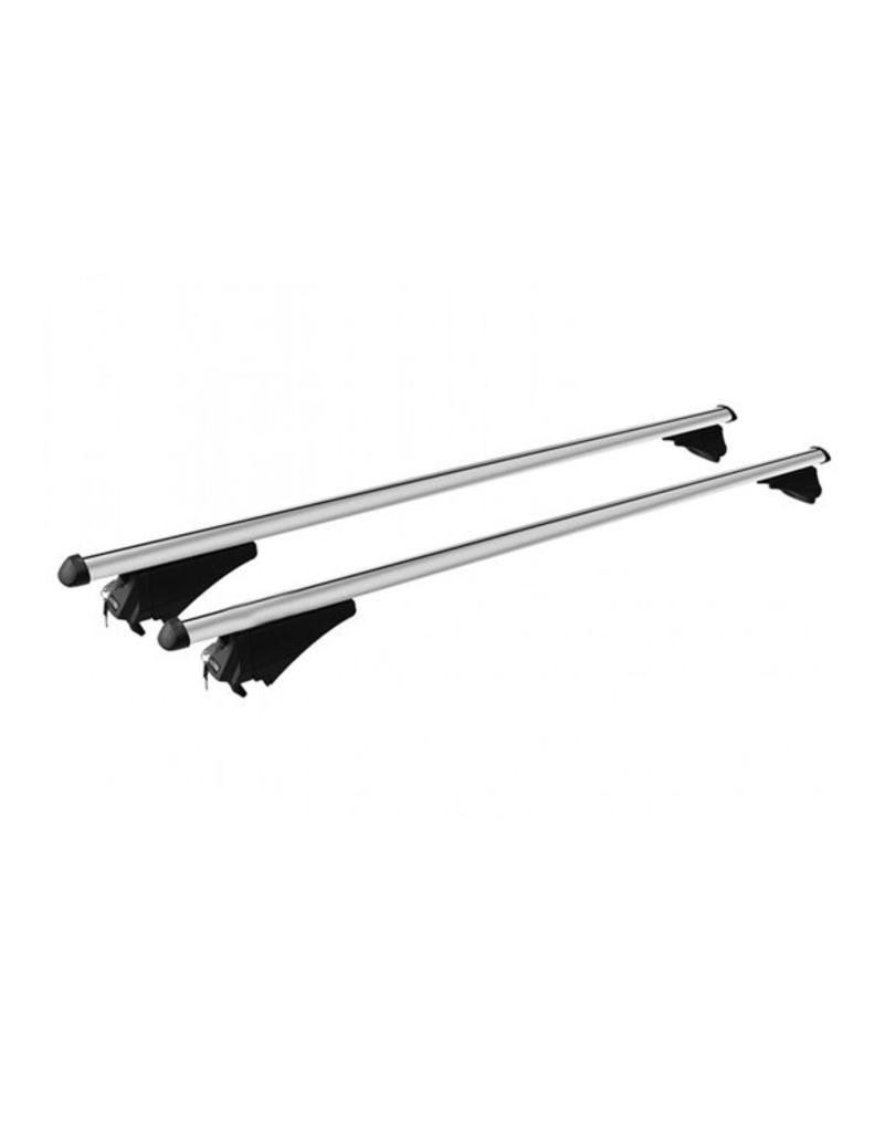 MWAY Universal Ally Roof Bars 1.2m for Raised Roof Rails | Fieldfare Trailer Centre