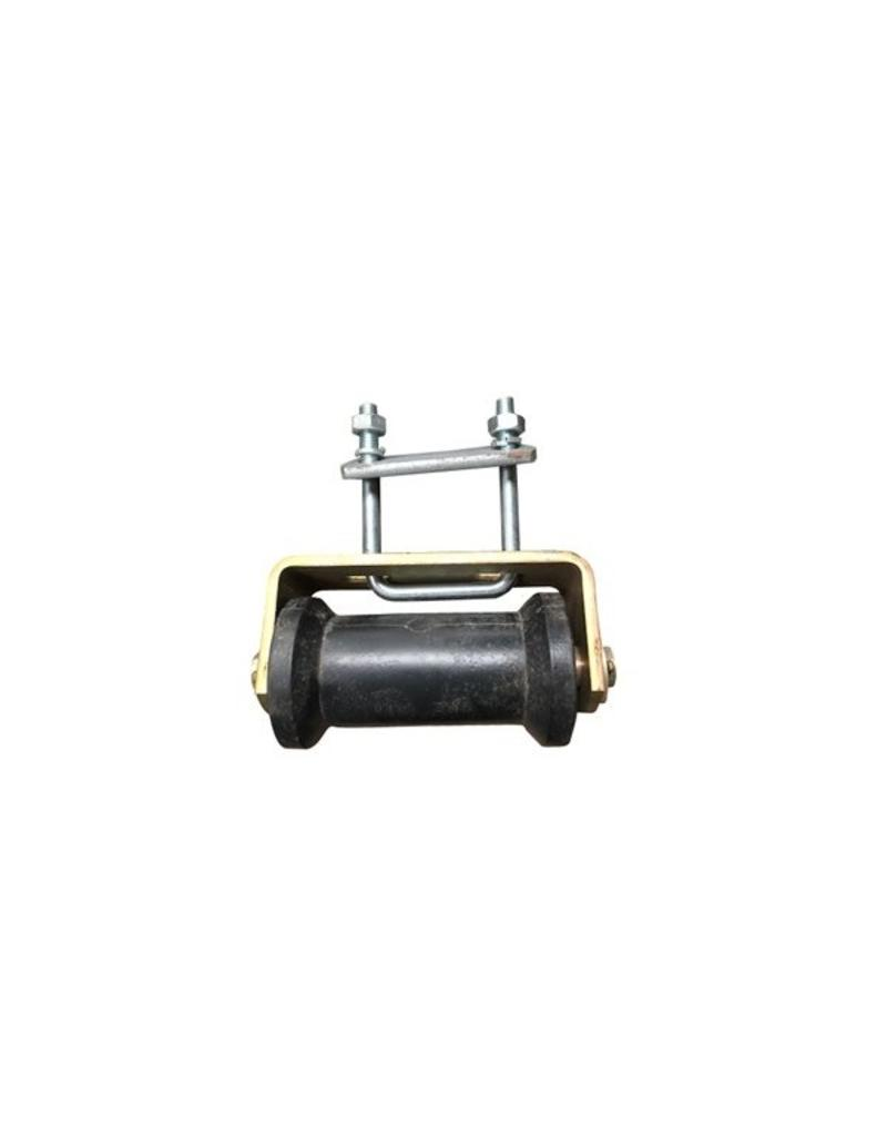 5 inch  DUMBBELL ROLLER ASSEMBLY 50mm Sq | Fieldfare Trailer Centre