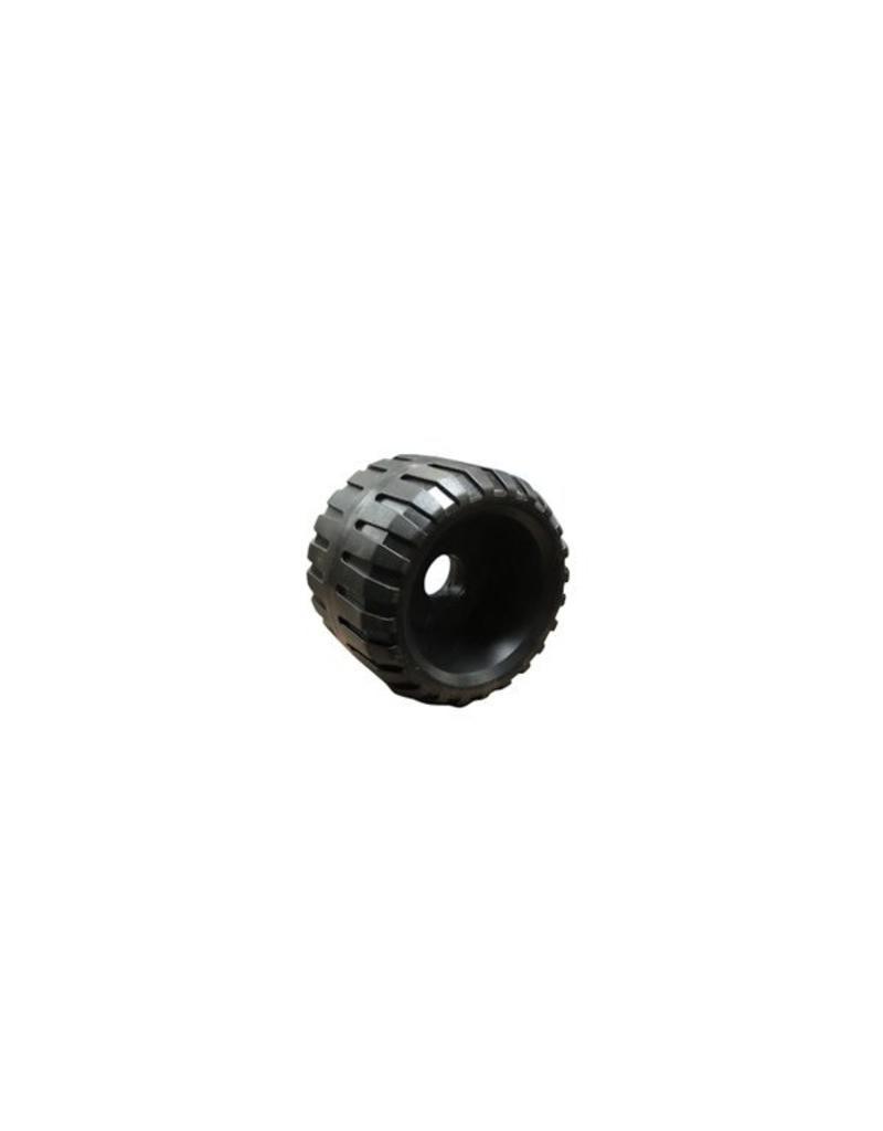 Ribbed Roller 80mm x 20mm Bore | Fieldfare Trailer Centre