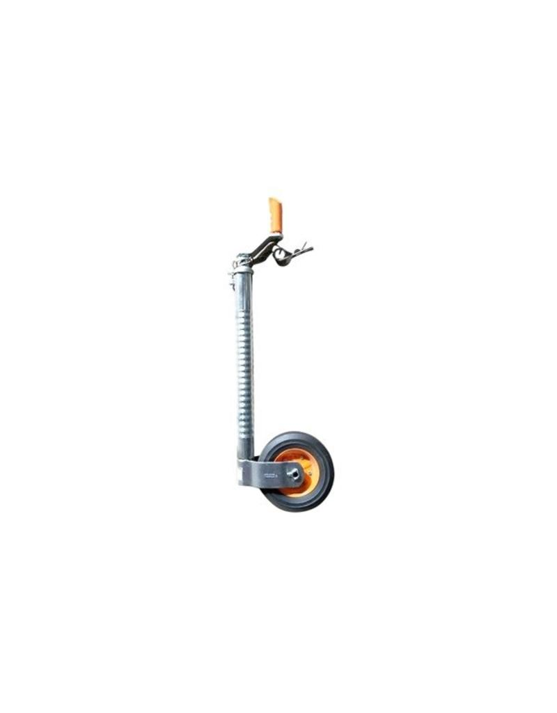 Kartt 48mm Kartt Orange Jockey Metal Rim Solid Wheel HD Ribbed | Fieldfare Trailer Centre
