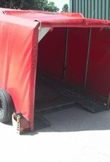 Used Brian James Covered Clubman Car Trailer