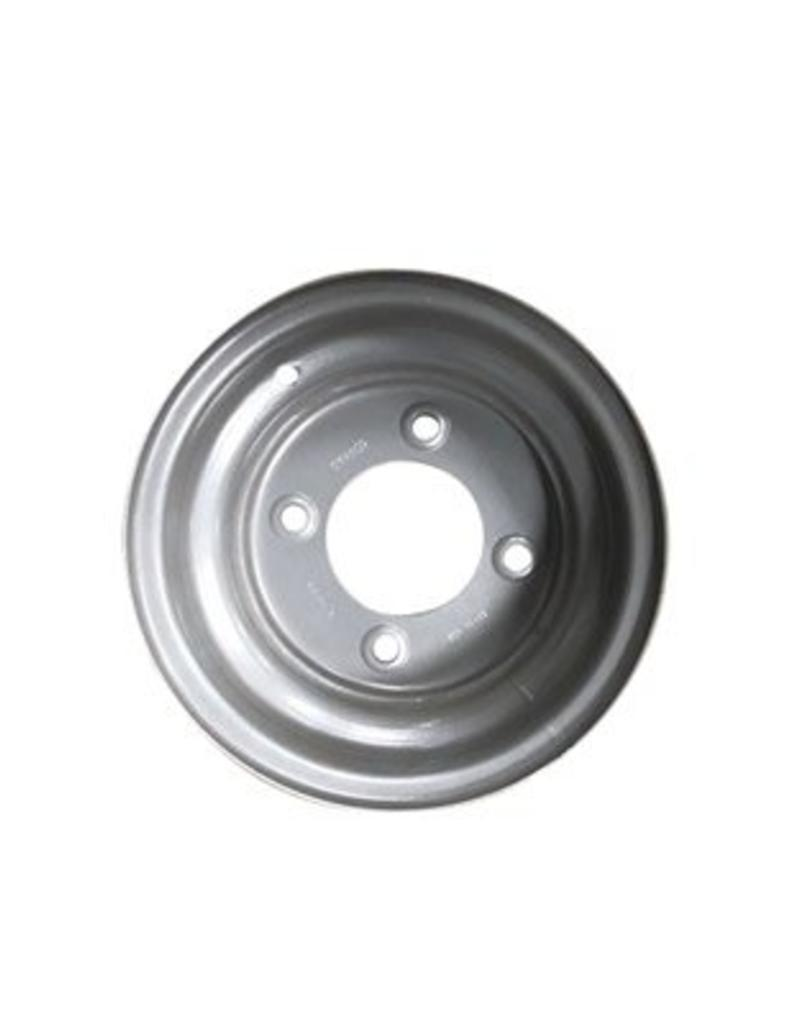 "Starco 10 inch Rim Steel 6.00J x 5.5"" PCD x 4 Holes Silver | Fieldfare Trailer Centre"