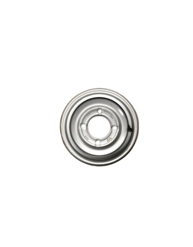 "Mefro Trailer Wheel 12 inch Rim Steel 4.50J x 5.5"" PCD x 4 Holes 30mm Offset | Fieldfare Trailer Centre"