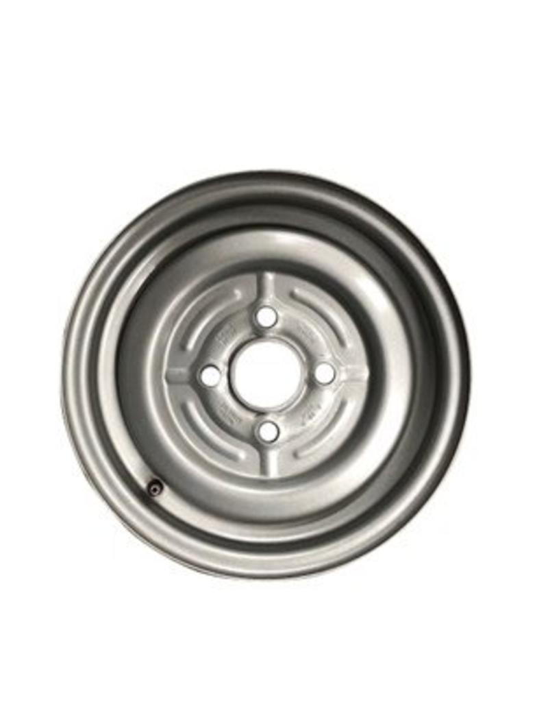 Mefro Trailer Wheel 12 inch Rim Steel 4.50J x 100mm PCD x 4 Holes 26mm Offset | Fieldfare Trailer Centre