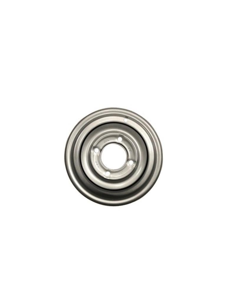 Mefro Trailer Wheel 12 inch Rim Steel 4.J x 5.5 inch  PCD x 4 Holes 0mm Offset | Fieldfare Trailer Centre