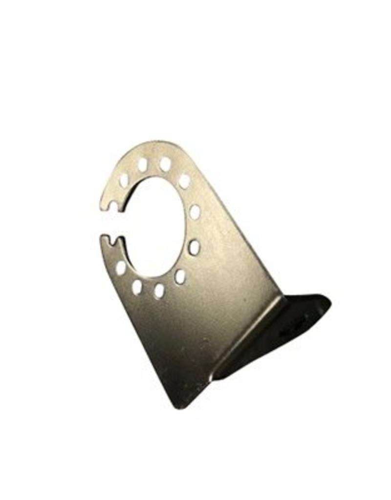 Maypole Right Angle Socket Adapter Plate Black | Fieldfare Trailer Centre