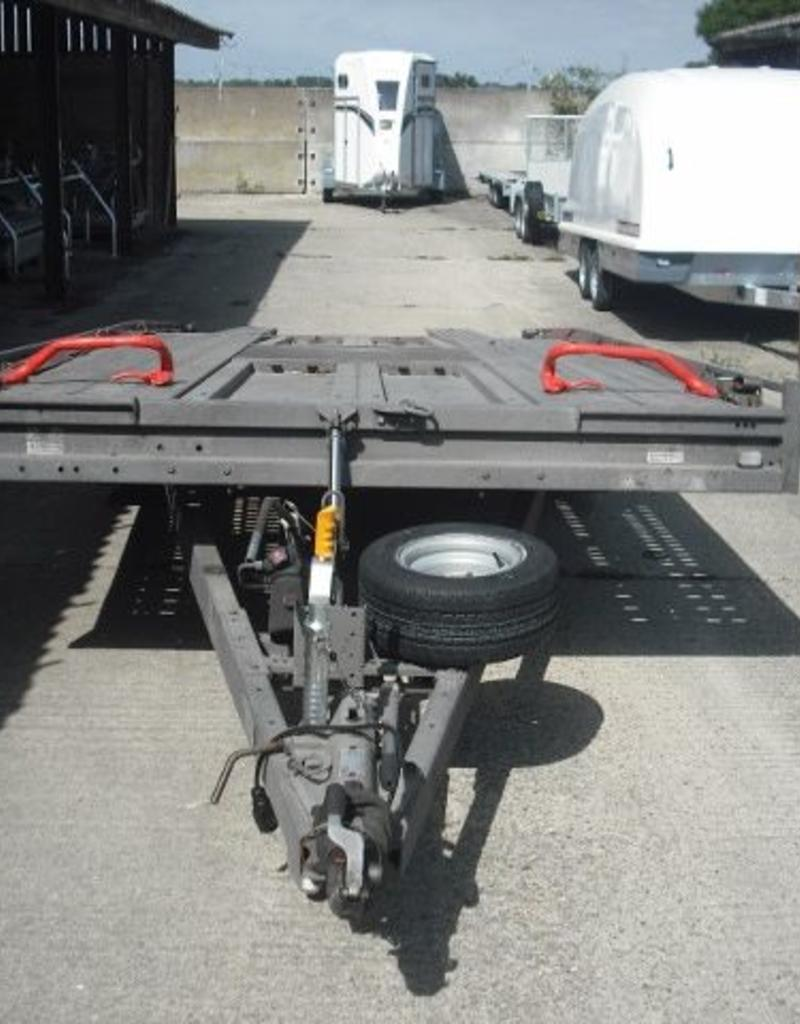 "Brian James Used Brian James T6 Transporter 5.5m x 2.22m Tri-Axle 10"" Wheels 