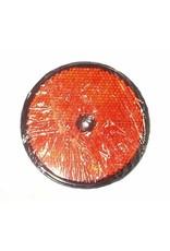 GWAZA 86mm Round Red Reflector | Fieldfare Trailer Centre