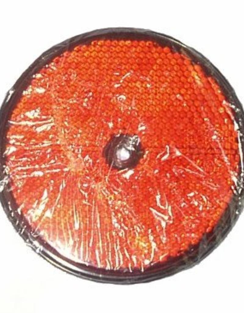 GWAZA 86mm Round Red Reflector   Fieldfare Trailer Centre