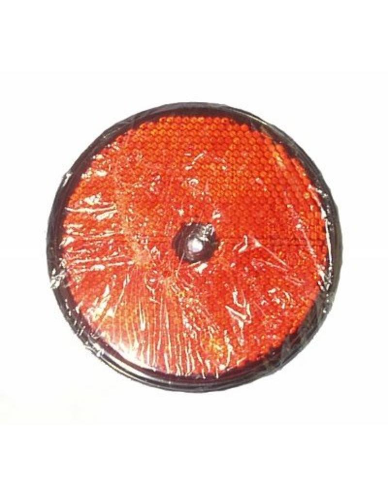 86mm Round Red Reflector | Fieldfare Trailer Centre