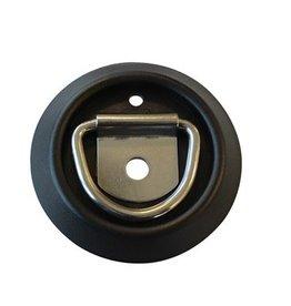 Lashing D Ring c/w Plastic Pan Stainless Steel