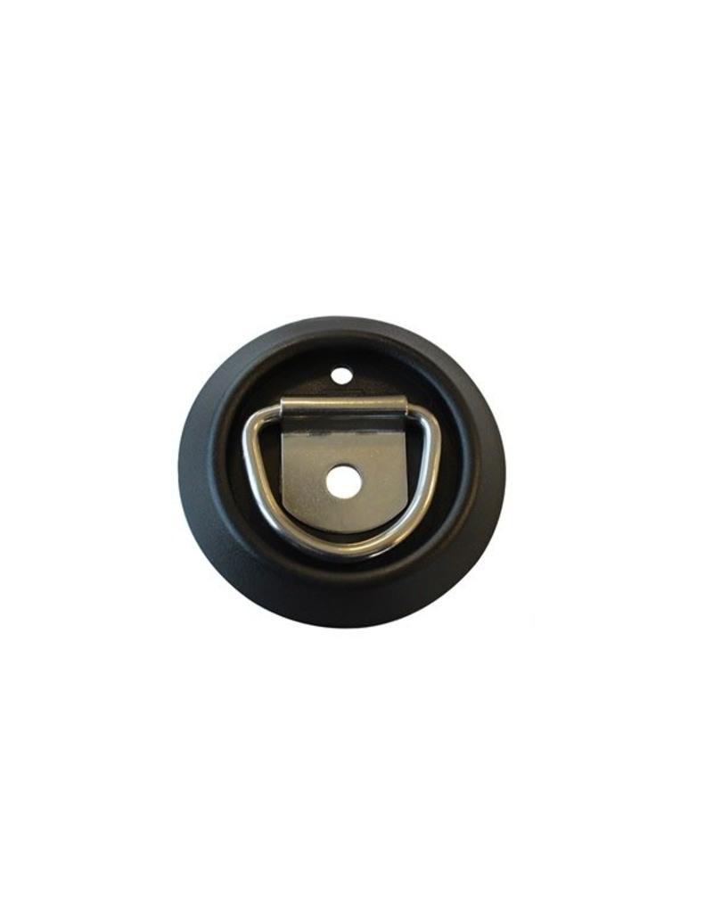 Lashing D Ring c/w Plastic Pan Stainless Steel | Fieldfare Trailer Centre