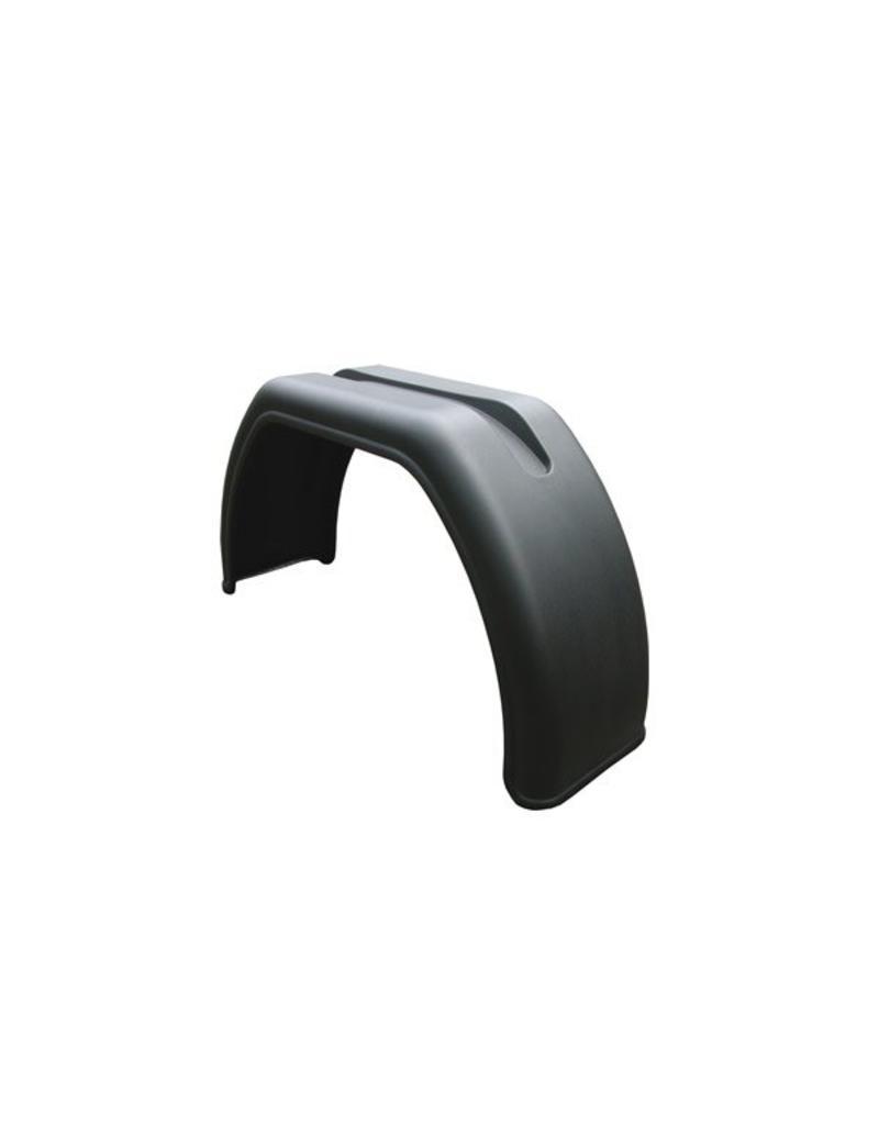PLASTIC WINGS FLAT TOP W260xL400xS895mm MATT BLACK FINISH | Fieldfare Trailer Centre