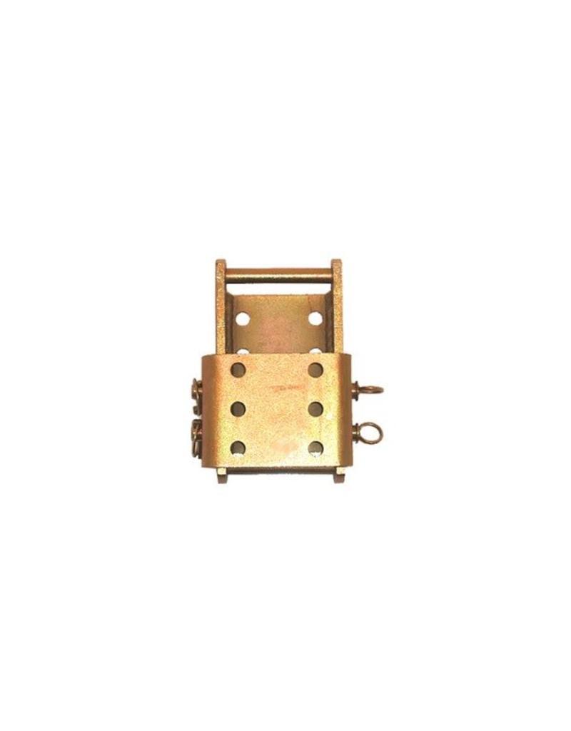 GWAZA Tow Hitch Height Adjuster c/w Drop Plate - 2 Pin   Fieldfare Trailer Centre