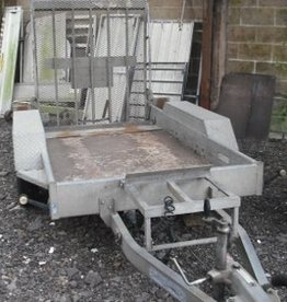 Indespension Used Indespension 1.5 Ton Mini Digger Trailer