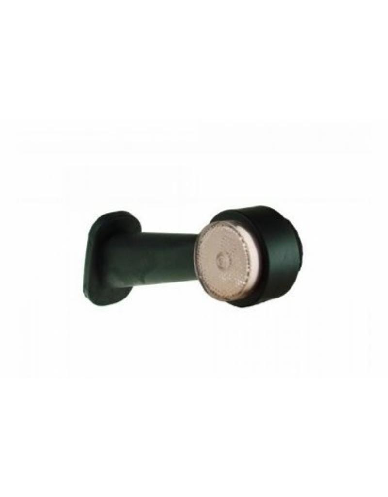 45 degree White Outline Marker Position Lamp Right Hand LED   Fieldfare Trailer Centre