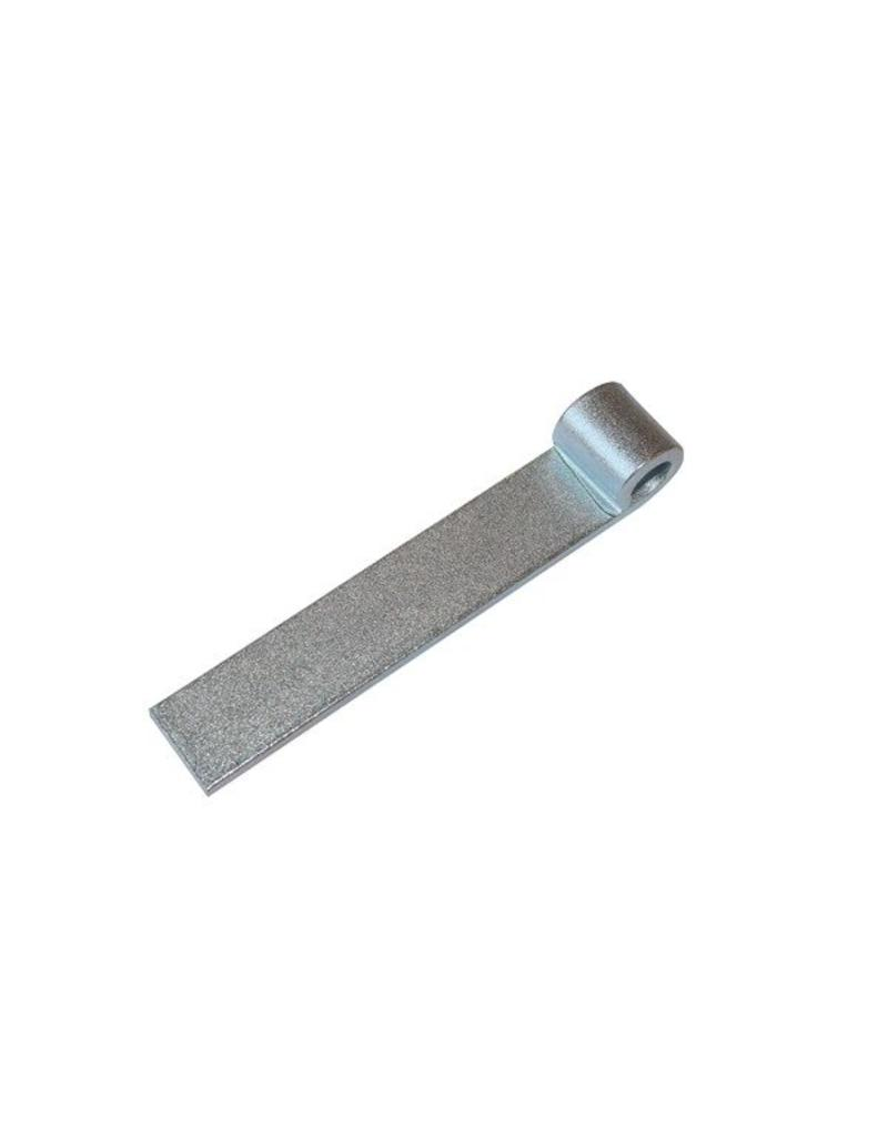 Commercial Body Fittings 6 inch Straight Hinge Self Colour | Fieldfare Trailer Centre