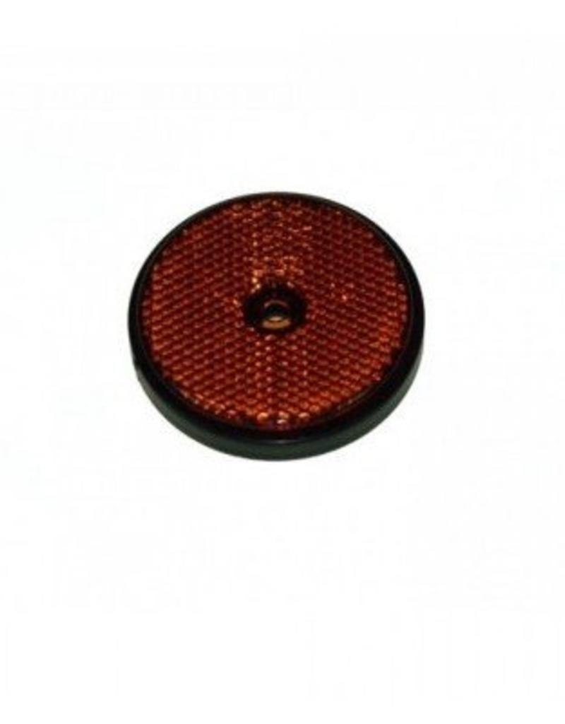 70mm Round Amber Reflector | Fieldfare Trailer Centre