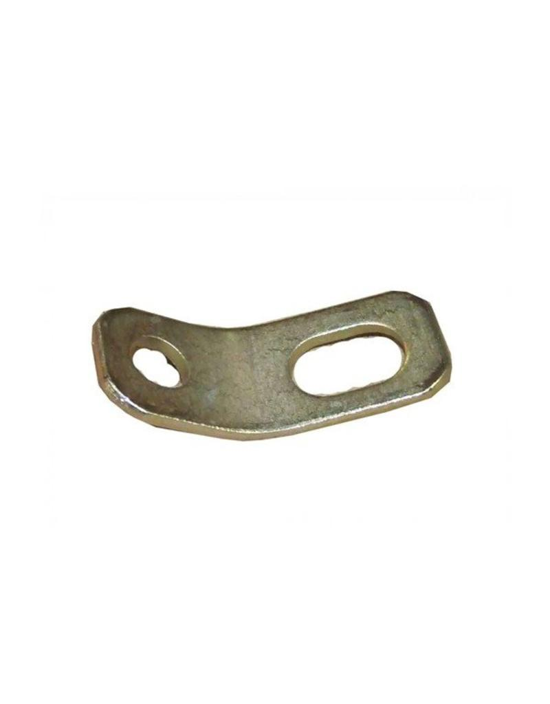 Breakaway Cable Mounting Plate 100mm x 40mm | Fieldfare Trailer Centre