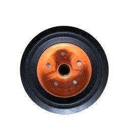 Metal Orange 200 x 50 Spare Wheel for Kartt Jockey