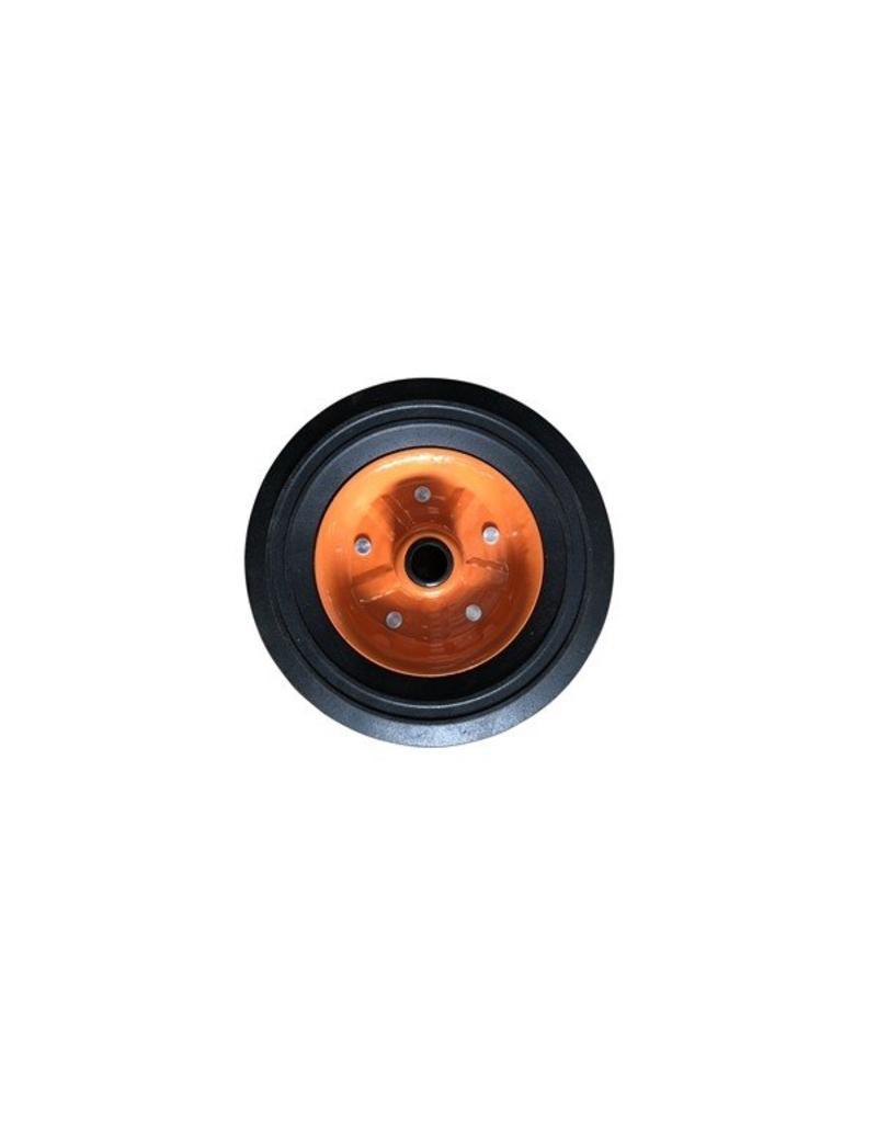 Metal Orange 200 x 50 Spare Wheel for Kartt Jockey | Fieldfare Trailer Centre