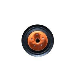 Kartt Metal Orange 200 x 56 Spare Wheel for Kartt Jockey