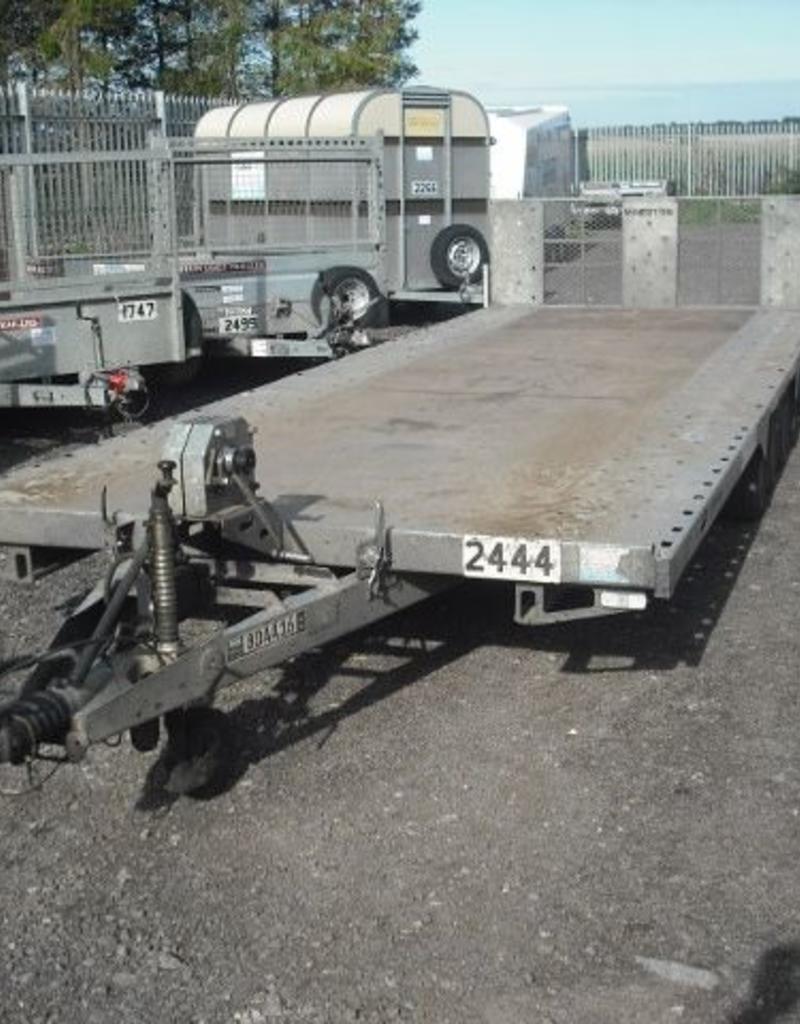 Batesons Used Bateson PT76 Hydraulic Tiltbed Trailer 6.25m x 2.3m | Fieldfare Trailer Centre