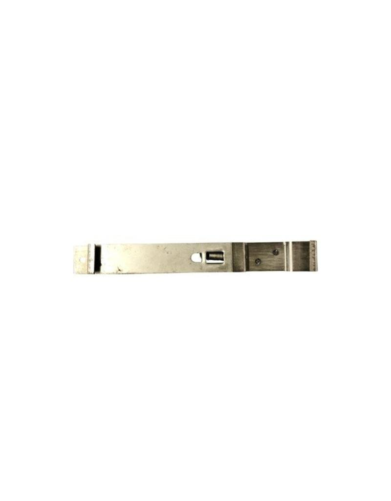 GWAZA Stainless Steel Sprung Number Plate Clip  Square Plate | Fieldfare Trailer Centre