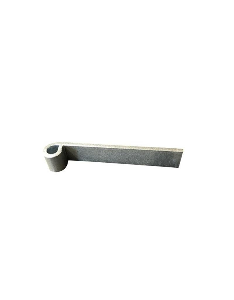 6 inch Straight Hinge Zinc Plated | Fieldfare Trailer Centre