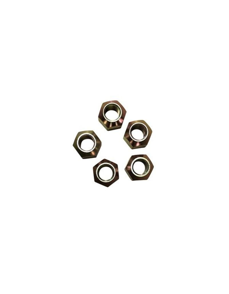 Indespension 5/8 UNF Wheel Nuts - Pack of 5 | Fieldfare Trailer Centre