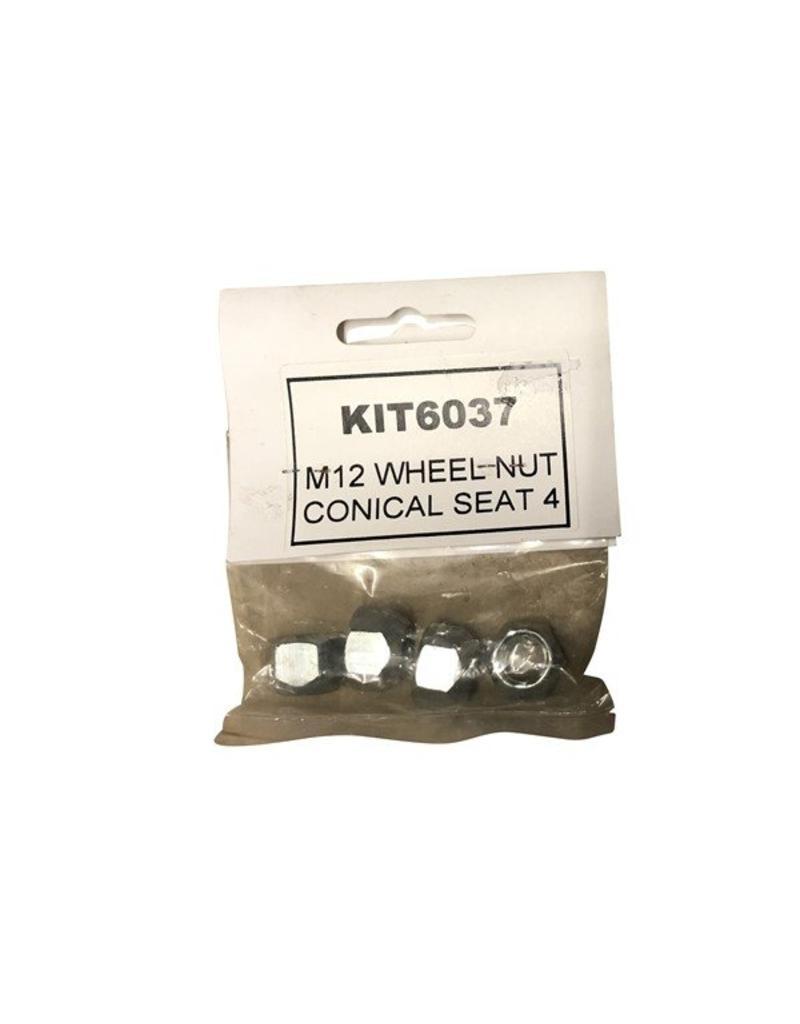 Bradley M12 x 1.5 Wheel Nuts pack of 4 | Fieldfare Trailer Centre