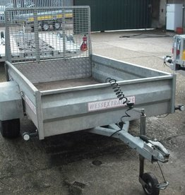 Wessex Used Wessex UBGT64 Unbraked Goods Trailer