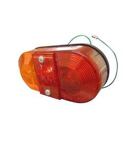 Britax 9020 Oval Rear Lamp + Reflector