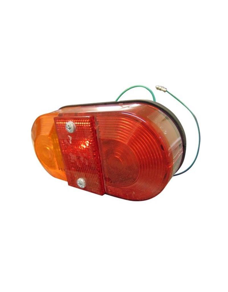 Britax 9020 Oval Rear Lamp + Reflector | Fieldfare Trailer Centre