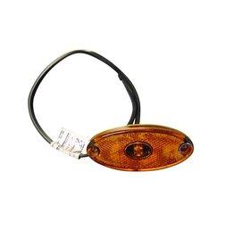 Aspock Oval Amber LED Side Marker Lamp