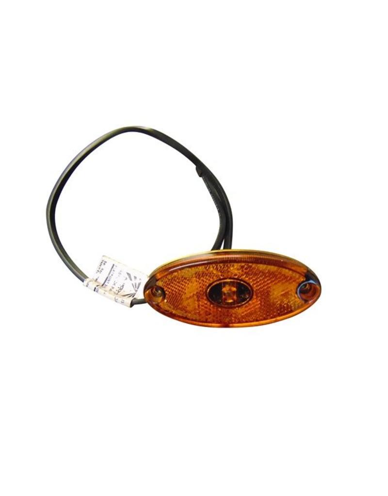 Oval Amber LED Side Marker Lamp | Fieldfare Trailer Centre