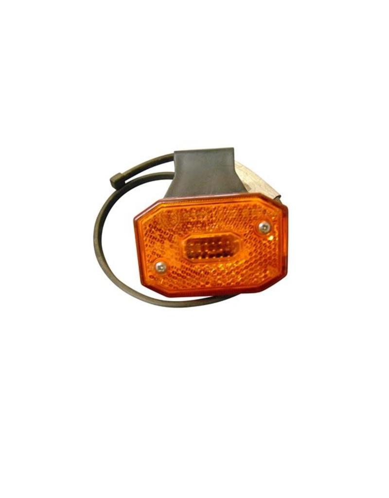 Amber LED Side Marker Lamp AND Bracket | Fieldfare Trailer Centre