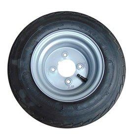 16.5 x 6.50 x 8 Wheel & Tyre 4 inch pcd