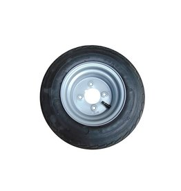 WSL 16.5 x 6.50 x 8 Wheel AND Tyre 4 inch pcd