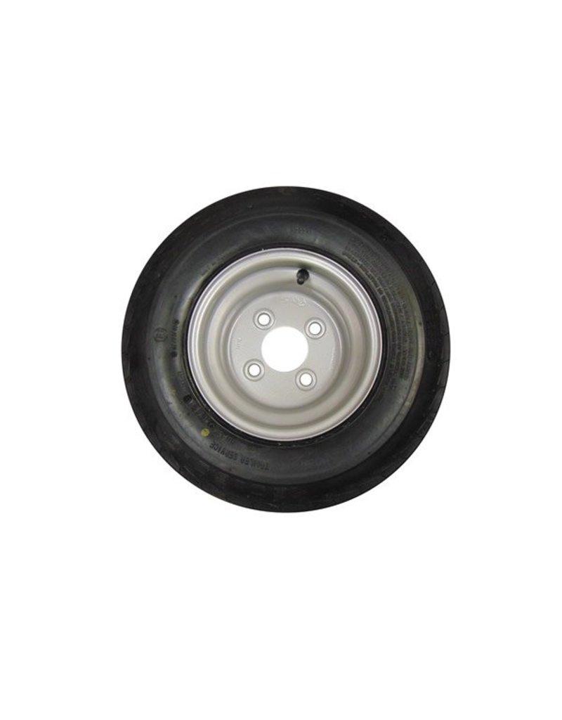 16.5 x 6.50 x 8 Wheel and Tyre 100mm pcd | Fieldfare Trailer Centre