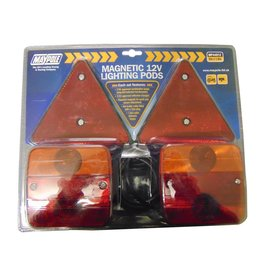 Maypole Trailer Pod Lighting Modules and Triangle 6M Cable