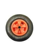 Plastic Centre Pneumatic Wheel Barrow Wheel   Fieldfare Trailer Centre