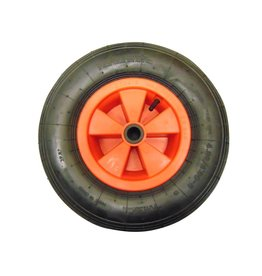 Plastic Centre Pneumatic Wheel Barrow Wheel