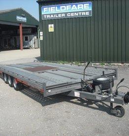 "Brian James Used Brian James T6 Transporter 5.5m x 2.07m Tri-Axle 10"" Wheels"