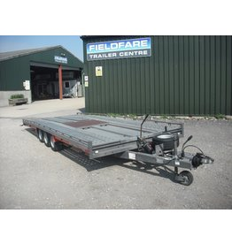 "Brian James Used Brian James T6 Transporter 5.5m x 2.07m Tri-Axle 10"" Wheels"