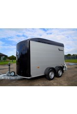 Debon Debon Roadster C500- Alu Sides in Black 2.6t GVW c/w Spare Wheel and Carrier