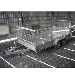 Brian James Used Brian James Cargo Allplant Trailer 540-2320 with Mesh Sides
