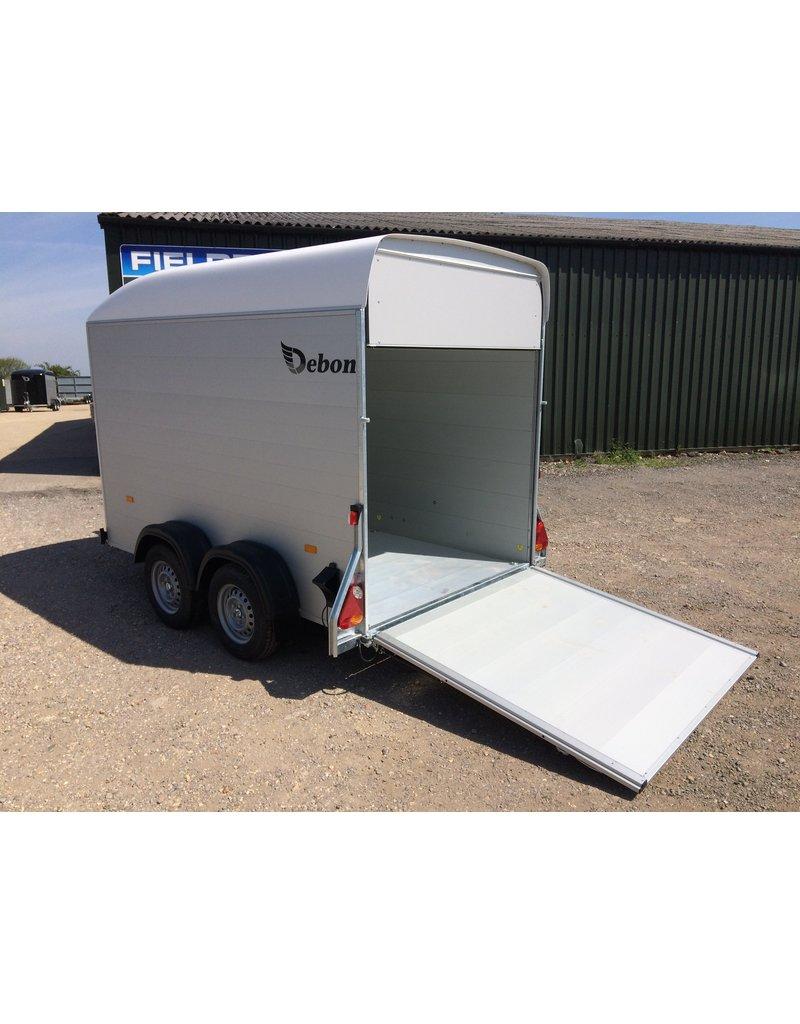 Debon Debon Roadster C500- Alu Sides in White 2.6t GVW c/w Spare Wheel and Carrier