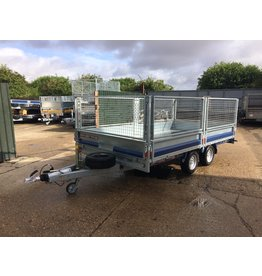 Brian James Ex Display CarGo Connect  4m x 2.13m 3500kg GVW c/w Drop sides