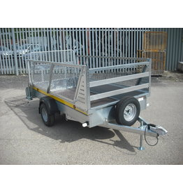 Batesons B84 Batesons Trailer,Mesh Sides, Spare Wheel, Prop Stands
